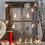 Mirrored Snowman 10 LED Battery String Lights, Set of 3