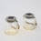 Solar Warm White Glass Jar Light with Rope Handle, Set of 2