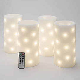 Lights Com Lit Decor Flameless Candles Flameless