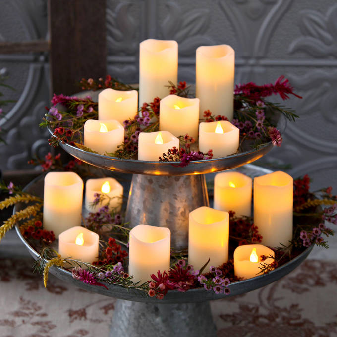 Lights Com Decor Flameless Candles Led Tea Lights