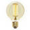 Midwood LED G25 Vintage Edison Bulbs, 1.7W (E26) - Set of 2