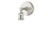 Clifton Wall Sconce, Satin Nickel