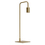 Hoyt Table Lamp, Satin Brass