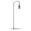 Hoyt Table Lamp, Chrome
