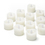Cora Ivory Flameless Petite Votive Candles, Set of 12
