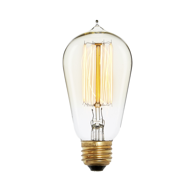 Bushwick ST18 Vintage Bulbs, 40W (E26) - Single