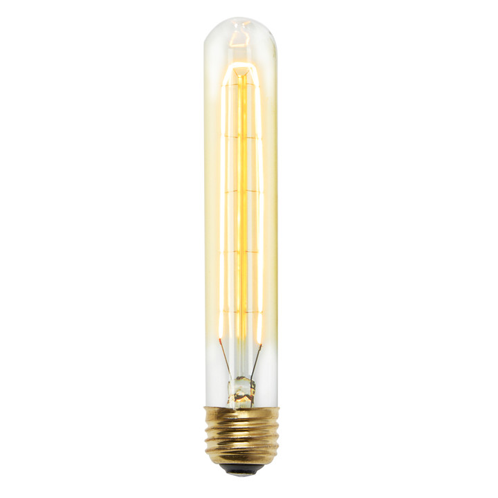 Cobble Hill T9 Vintage Edison Bulbs, 40W (E26) - Single