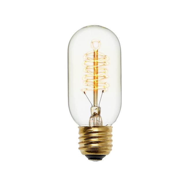 Kensington T14 Vintage Edison Bulbs, 40W (E26) - Single
