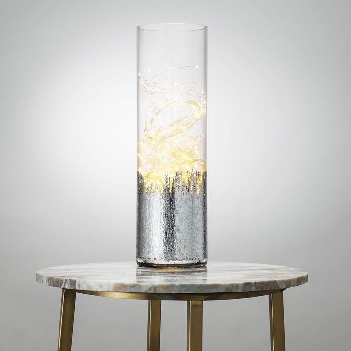 600 LED Silver Fairy Light Sprays