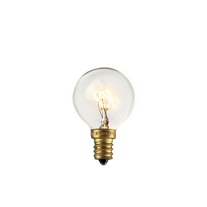 Classic Clear Incandescent Bulbs, Set of 25