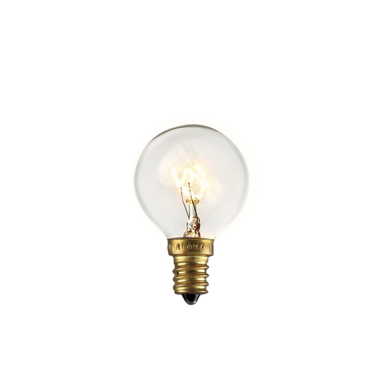 Lights.com Bulbs Edison Bulbs Classic Clear Incandescent Bulbs, Set of 25