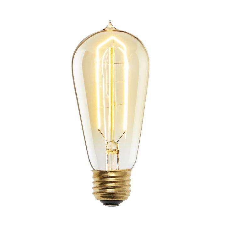 Flatbush Incandescent ST18 Vintage Edison Bulb (E26), Set of 4