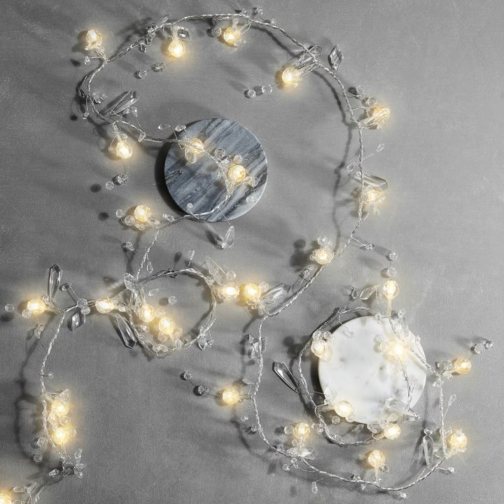 coco crystal string lights by all things brighton ...   Crystal Light Show String