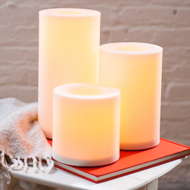 Grande Outdoor Flameless Candle with Programmable Timer