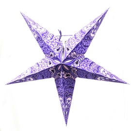 Suha Handmade Paper Star Lamp with Plug-in Cord