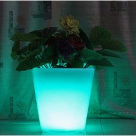 Color Changing Rechargeable Mood Vase with Remote