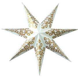Tender Handmade Paper Star Lamp