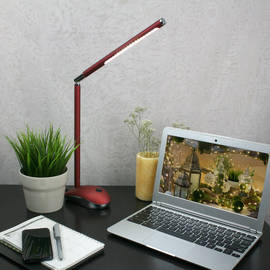 Rechargeable Candy Desk Lamp, Red