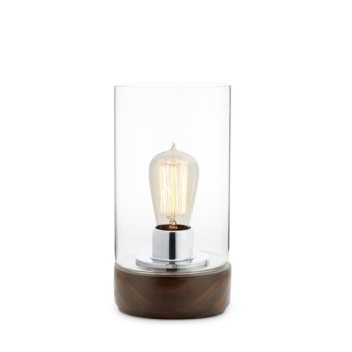 Benson Accent Lamp, Mahogany