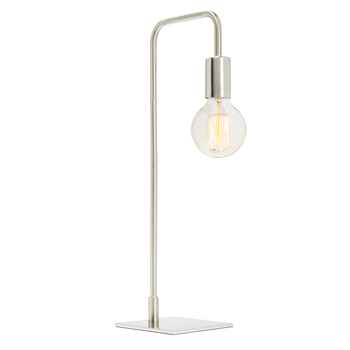 Hoyt Table Lamp, Satin Nickel