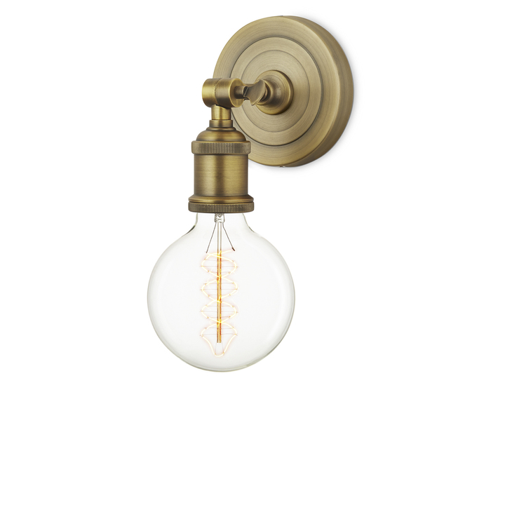 Clifton Wall Sconce, Aged Brass