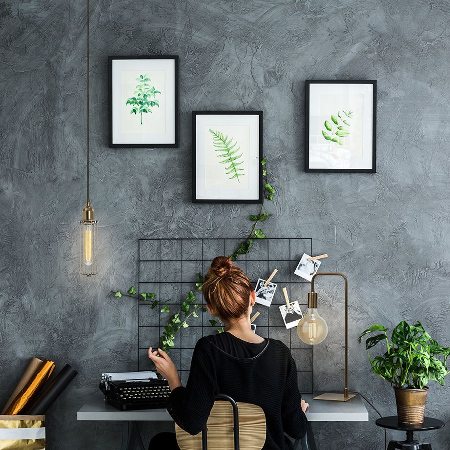 Bright Ideas For The Home Office Get This Look