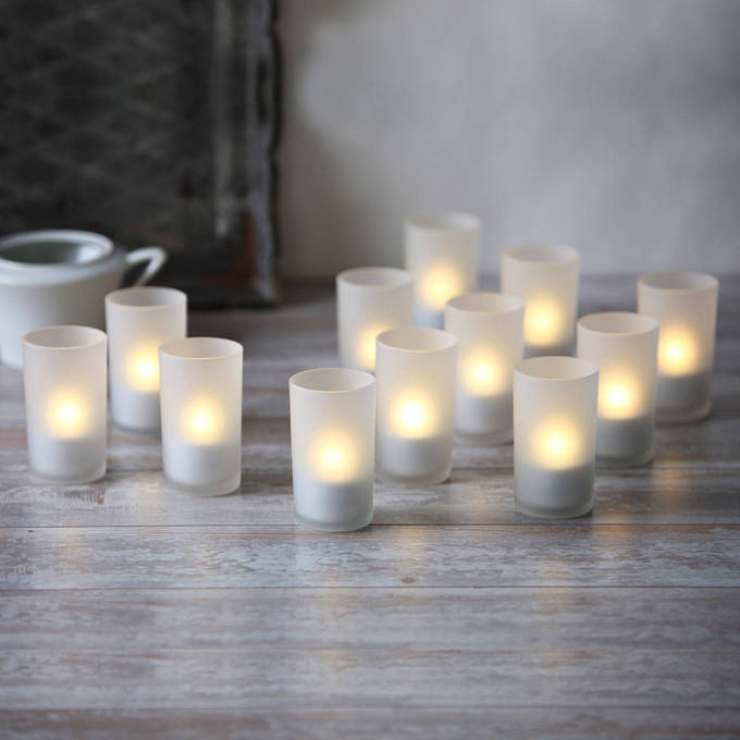 Lights Com Decor Flameless Candles Led Tea Lights