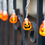 Closeout Ghost and Pumpkin Battery String Lights 2 Pack