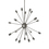 20-Light Pewter Sputnik Chandelier