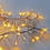 Warm White 440 LED Cluster  Garland Plug-In String Lights, 11ft
