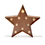 Closeout Vintage Metal 10 LED Marquee Star Battery Light with Timer