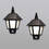 Olwyn Solar Wall Light with Motion Detection, Set of 2