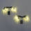 Winter Icicle 20 LED Battery String Lights, Set of 2