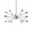 18-Light Chrome Sputnik Chandelier