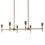 Prospect 6-Light Linear Chandelier, Bronze