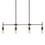 Open Box Prospect 4-Light Linear Pendant, Bronze