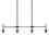 Prospect 4-Light Linear Pendant, Bronze
