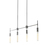 Prospect 4-Light Linear Pendant, Chrome