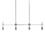 Prospect 4-Light Linear Pendant, Chrome