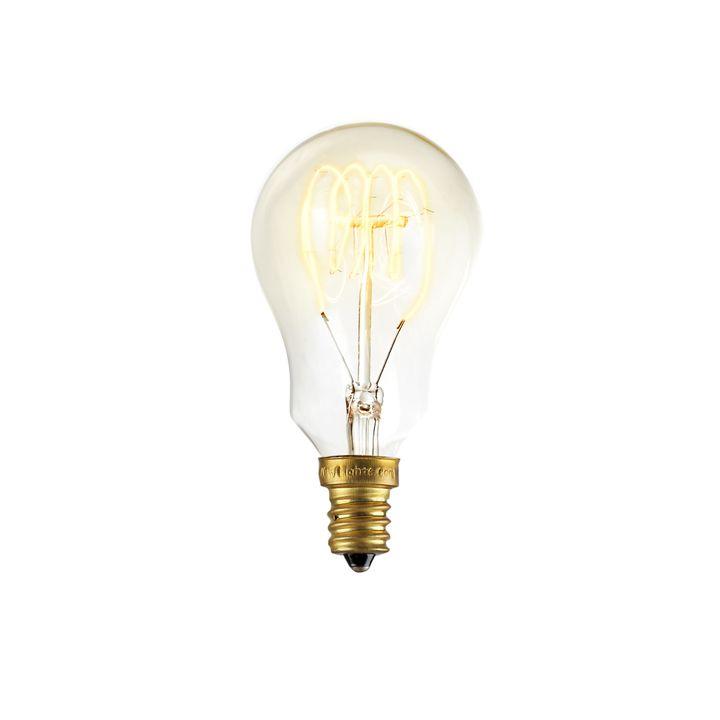 Lights Light Bulbs Edison Coney Island Mini A15 Vintage Candelabra Bulb 40w E12 Single