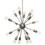 Open Box 16-Light Pewter Sputnik Chandelier