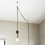 Astor Adjustable Plug-In Pendant, Satin Nickel