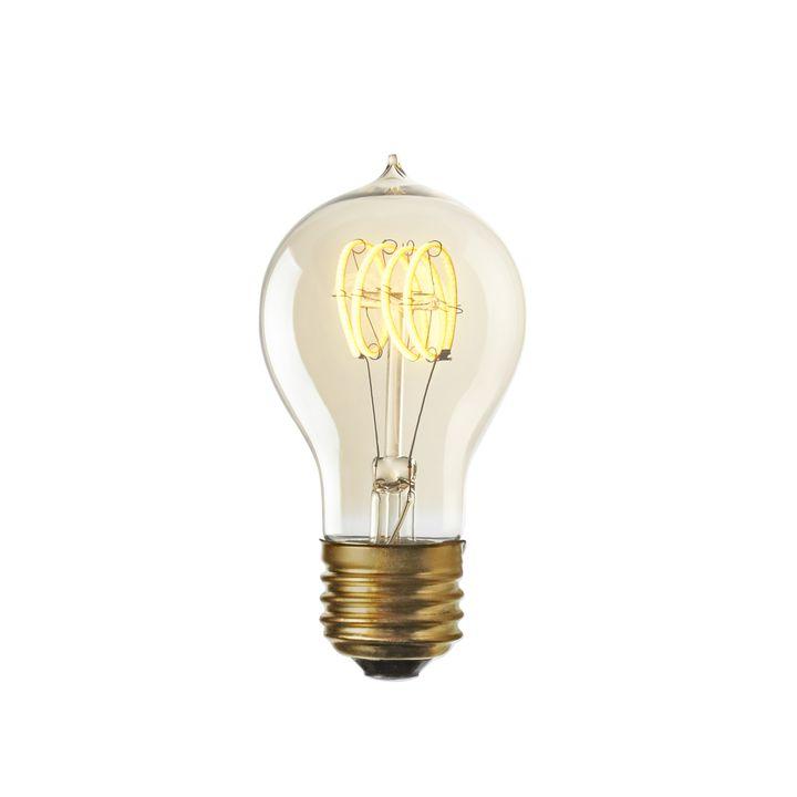 Coney Island LED A19 Vintage Edison Bulb (E26), Single by LampLust