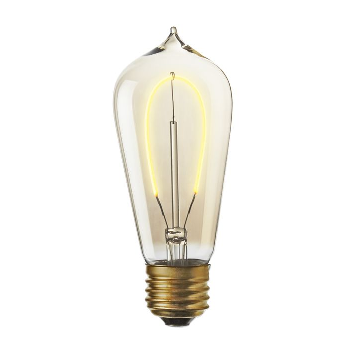 Flatbush LED ST18 Vintage Edison Bulb (E26), Single