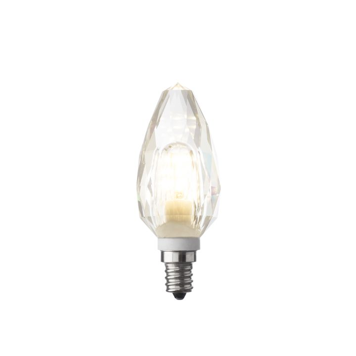 Crystal Torpedo E12 Led Bulb Single
