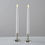 Whitney Silver Taper Candle Holder, Set of 2