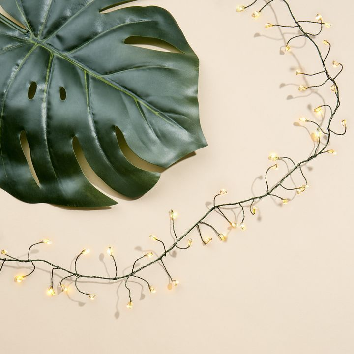 Starry Green Cluster Fairy String Lights, 5ft