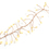 Starry Copper Cluster Fairy String Lights, 25ft