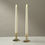 Open Box Whitney Brass Taper Candle Holder, Set of 2