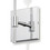 Prospect Wall Sconce, Chrome